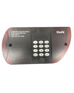 Xtra I PHII Front Keyboard Backlit Red Transparent